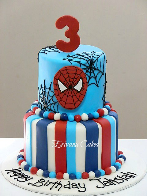 Spiderman Cake 4